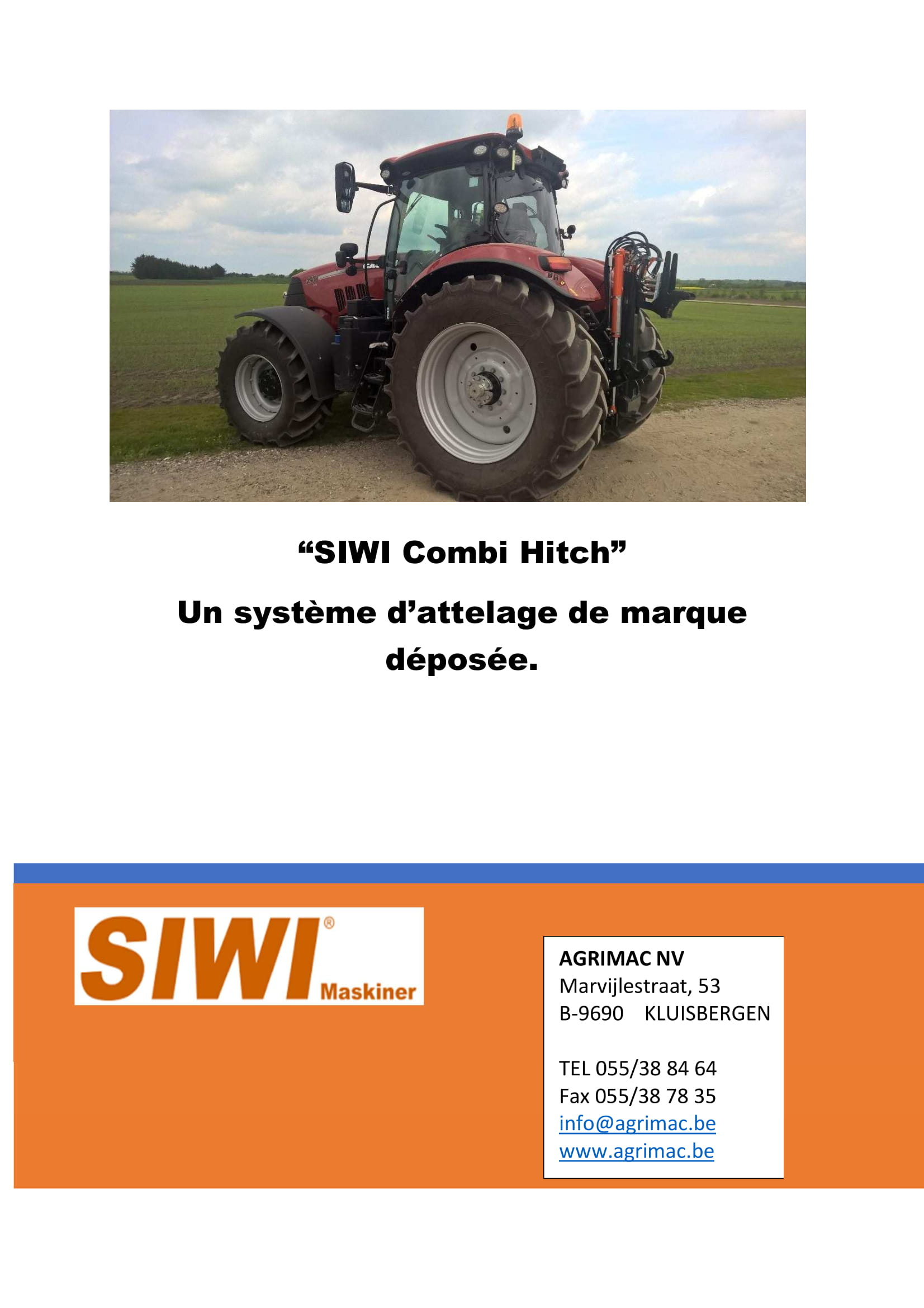 SIWI Combi Hitch FR