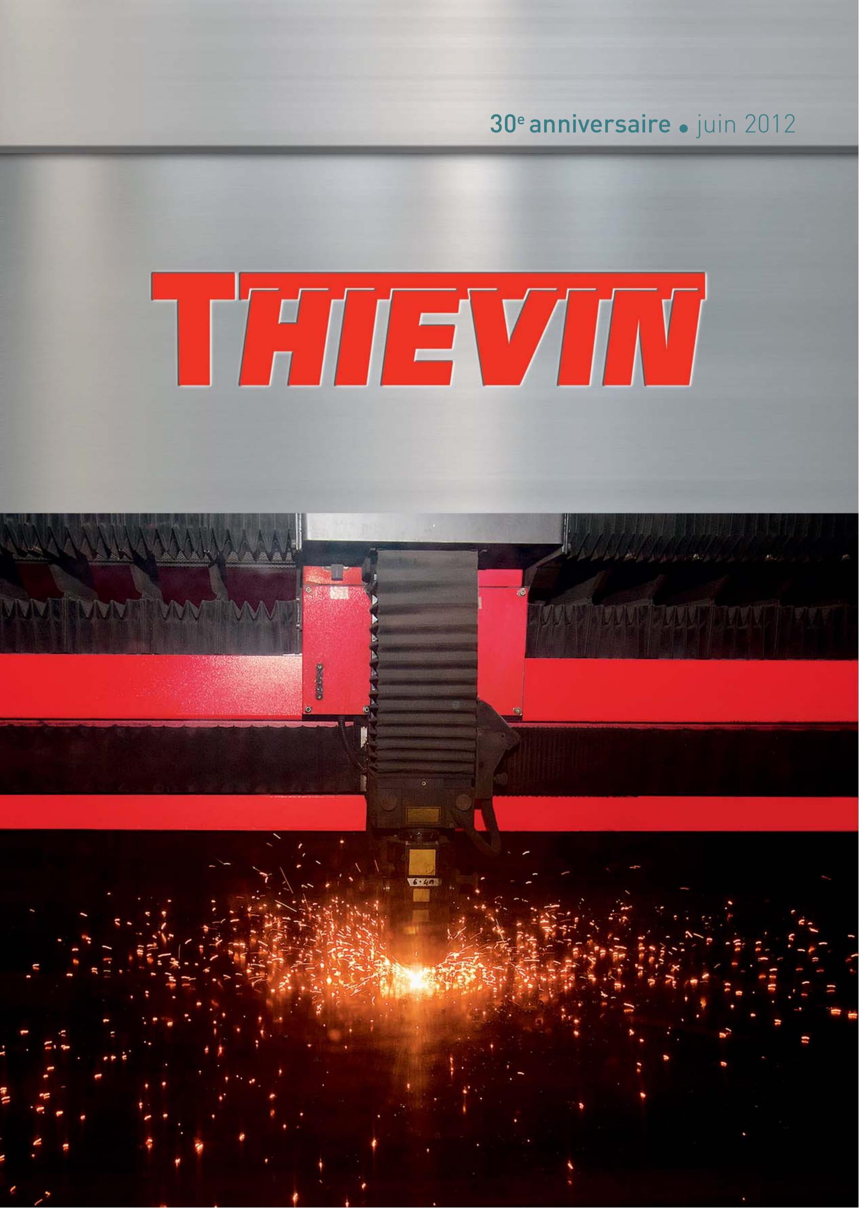 THIEVIN Plaquette 30 ans