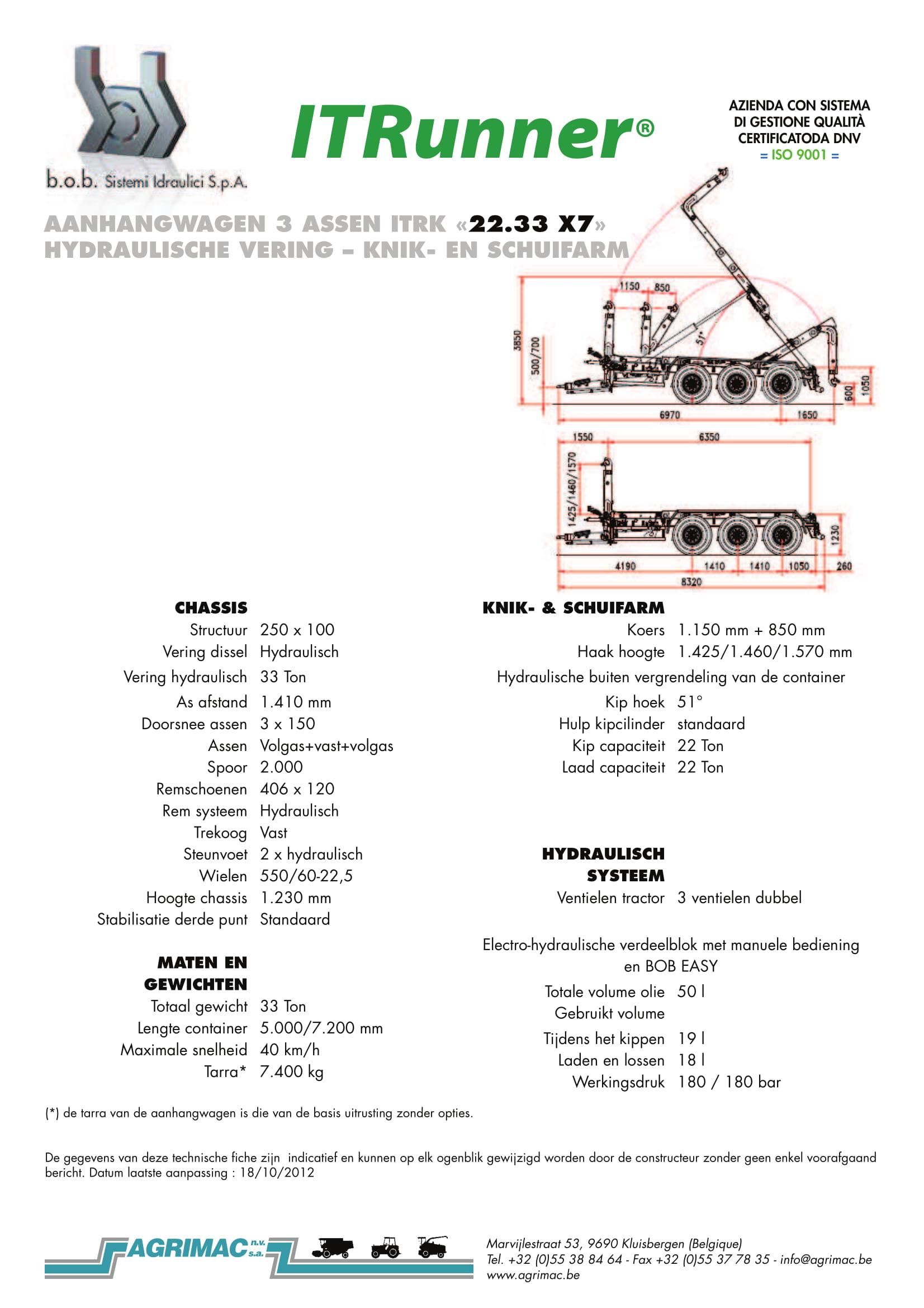 22.33 X7 AGRIBEX 2016
